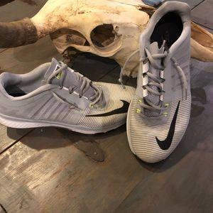 Nike sz 13 grey & Black Running shoes